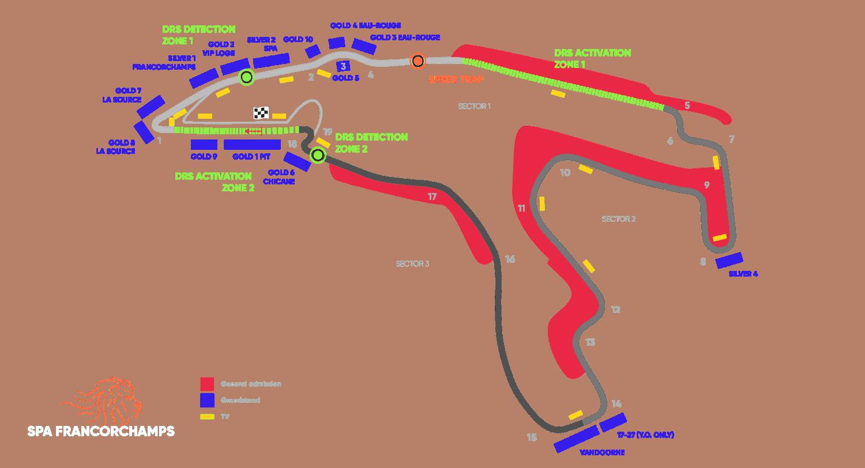 Circuit Belgian Grand Prix – Spa-Francorchamps 2021