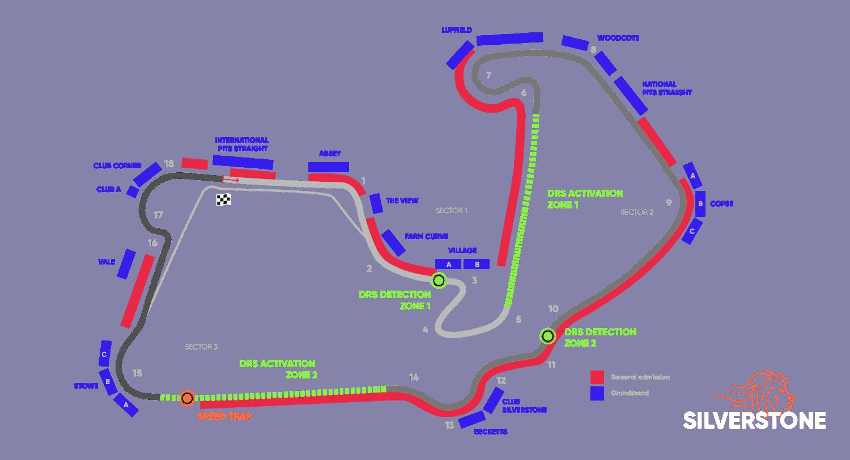 Circuit British Grand Prix – Silverstone 2022