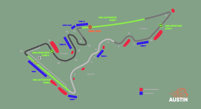 Circuit United States Grand Prix – Austin 2021