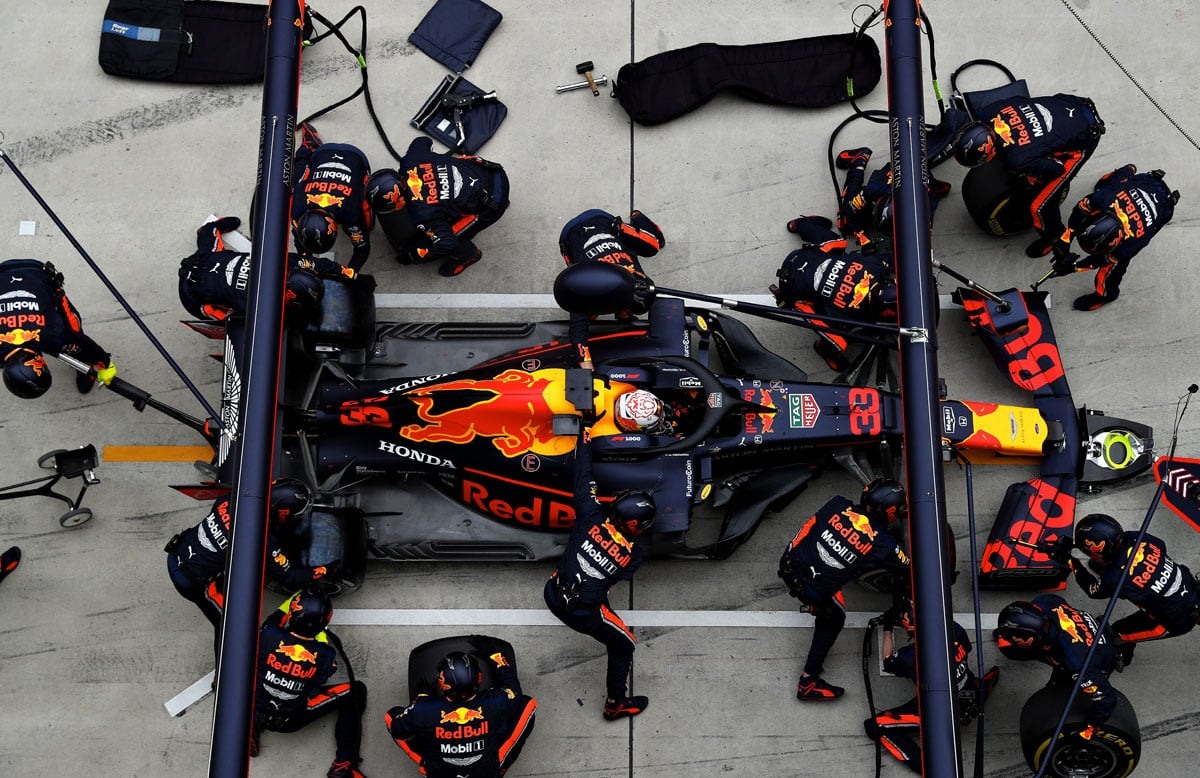 Red Bull Racing Team Hospitality 2021 – Paddock Club™ Packages